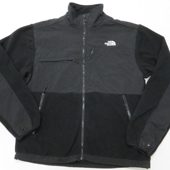a71de81ac The North Face Black Denali Polartec Fleece Jacket
